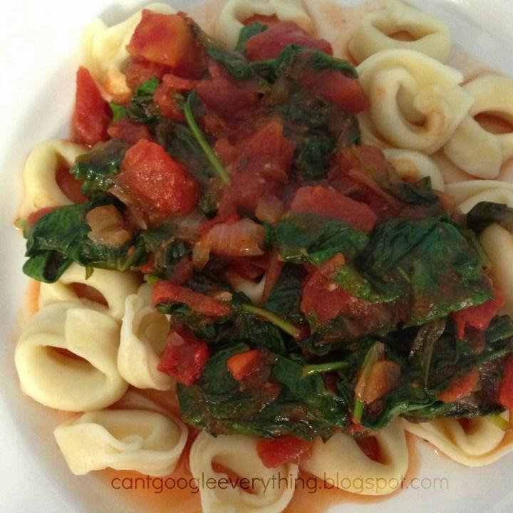Spinach & Tomato Tortellini