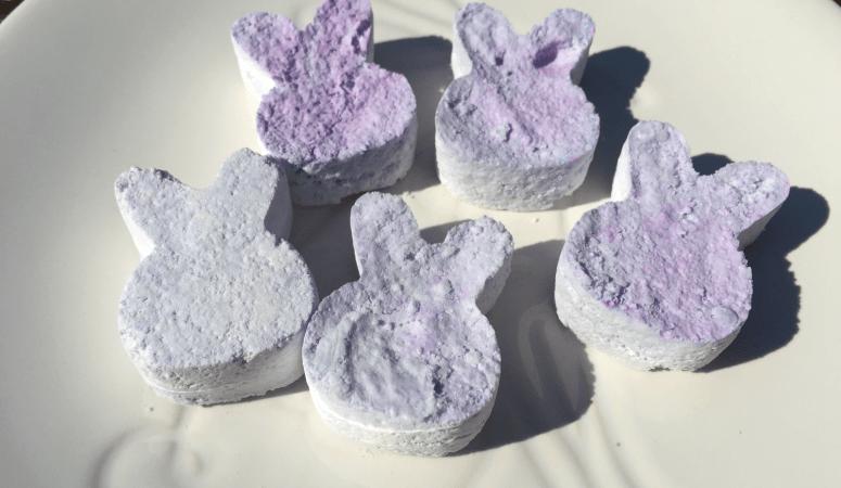 Easter Bunny Bath Bombs!