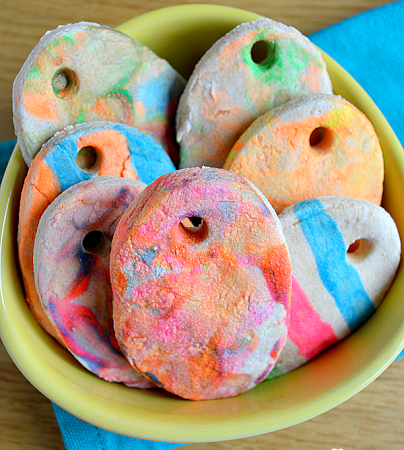 Salt Dough Easter Eggs!
