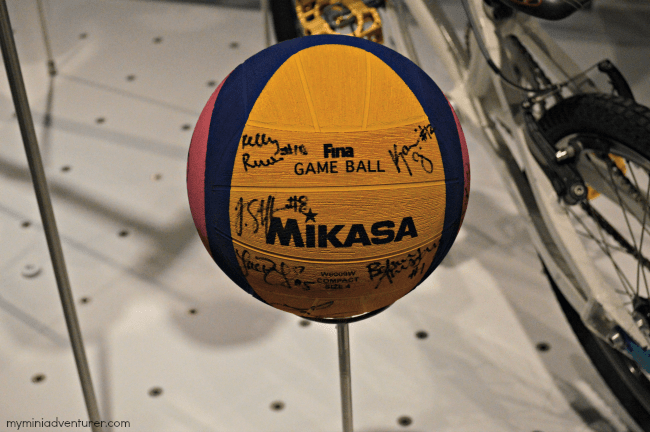 Olympic Museum game ball