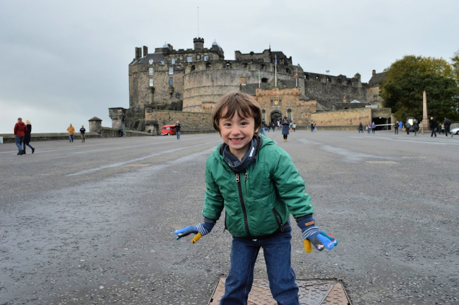 Visiting Edinburgh with Kids