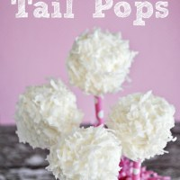 Bunny Tails Marshmallow Pops Recipe