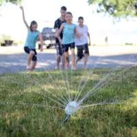$1 Soda Bottle Sprinkler For Summer Fun