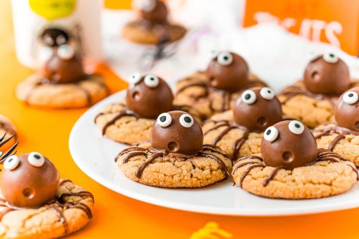 Halloween Spider Cookies - Super Cute!