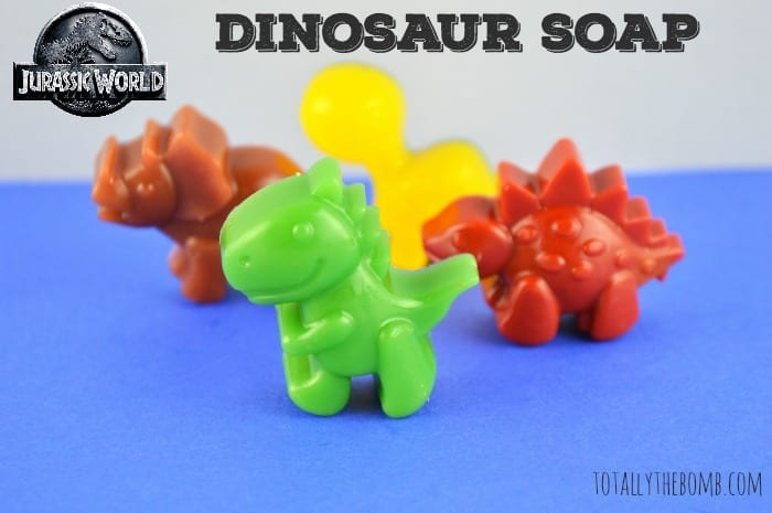 Jurassic World Inspired Dinosaur Soap