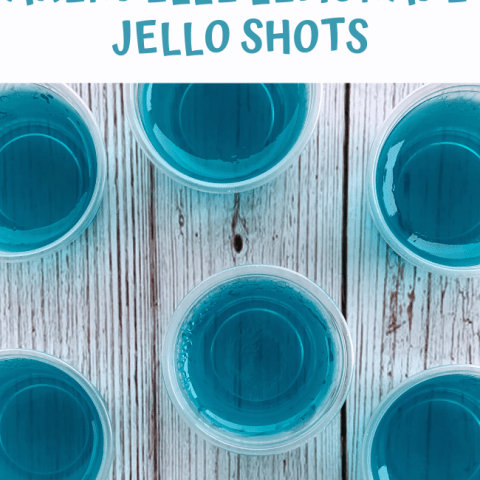 Frozen Arendele Lemonade Jello Shots
