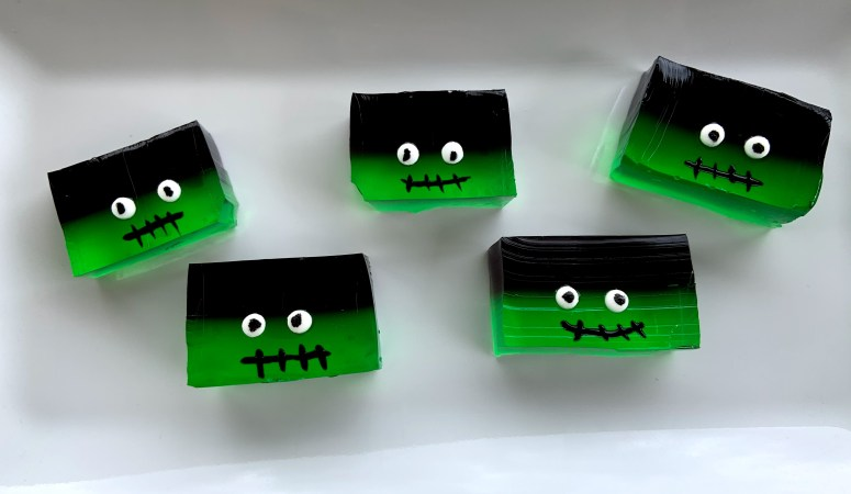 Frankenstein Jello Shots