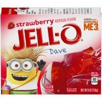 Strawberry Jello 3oz