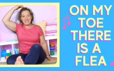 Preschool Circle Time Song | On My Toe There Is A Flea | Focus Song for Kids