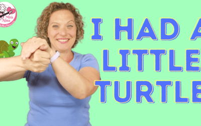 I HAD A LITTLE TURTLE | Preschool Rhyme with Motions