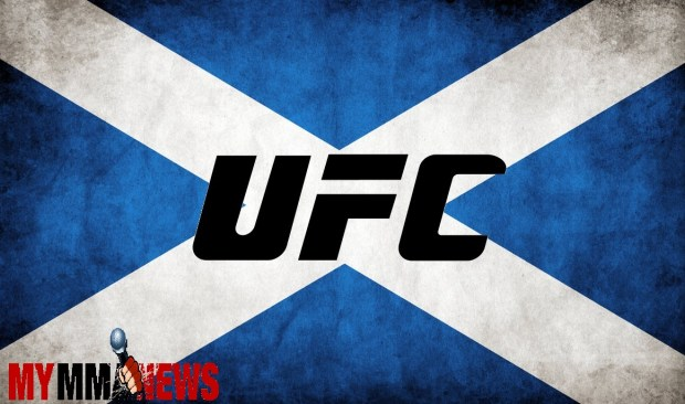 UFC announces 3 bouts for highly anticipated return to Scotland