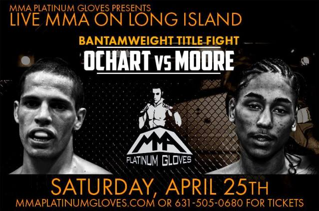 """Shaquan Moore challenges Ochart in co-main event for title """"This Is My Fight"""""""
