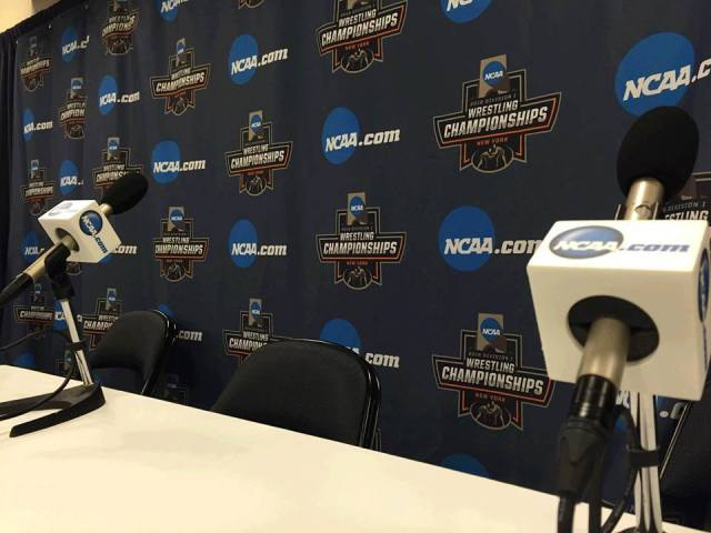 NCAA D1 Wrestling Coaches Press Conference at Madison Square Garden
