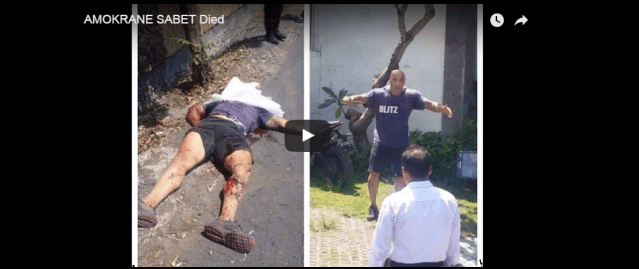 VIDEO: Former Mixed Martial Artist Shot Dead by Police in Bali