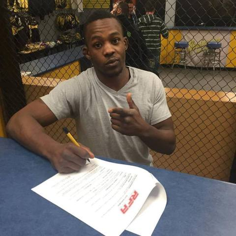 """Ode """"The Oddity"""" Osbourne Signs with RFA – Fights June 17th"""