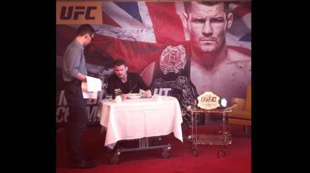 Bisping:  I haven't changed a bit since becoming champ, still a dickhead