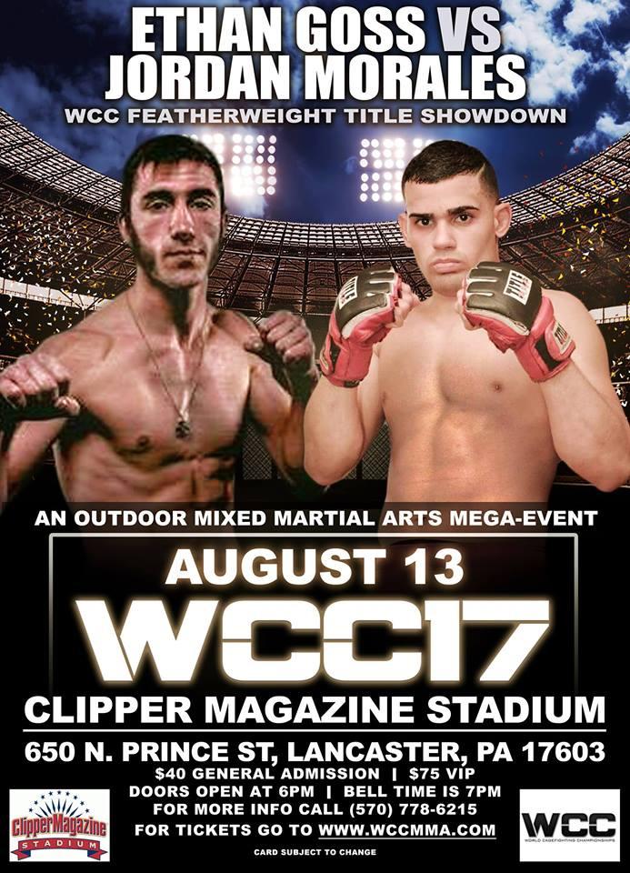 Ethan Goss vs Jordan Morales at WCC 17