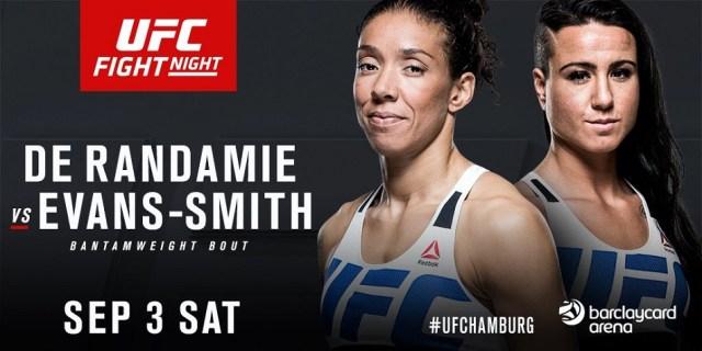 Ashlee Evans-Smith vs Germaine de Randamie added to UFC Fight Night 93 in Germany