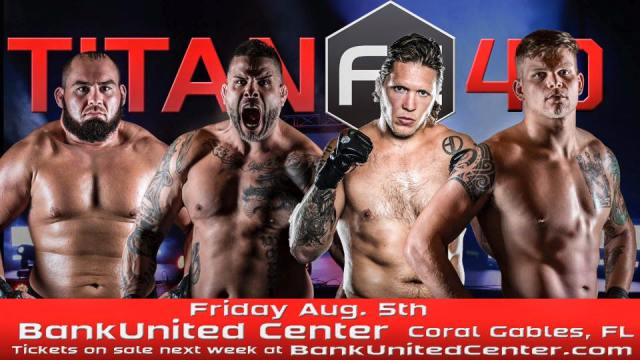 Titan FC 40 fight card