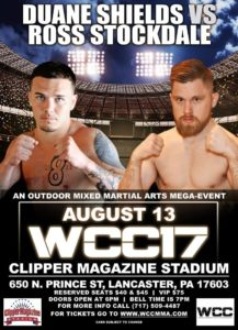 Ross Stockdale vs Duane Shields at WCC 17