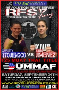 Christy Tyquiengco vs Erin Jimenez at RFS 17