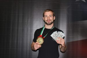 Adam Bradley - Abu Dhabi Grand Slam