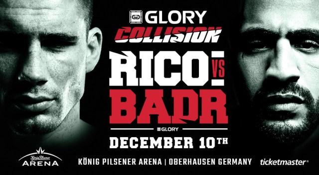 Rico Verhoeven vs. Badr Hari at GLORY: Collision