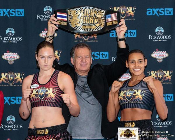 Weigh-in results set stage for  four title bouts at Lion Fight 31