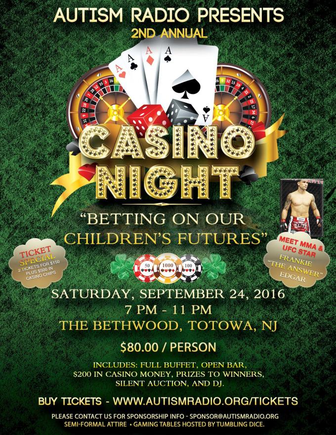 Casino Night with Frankie Edar