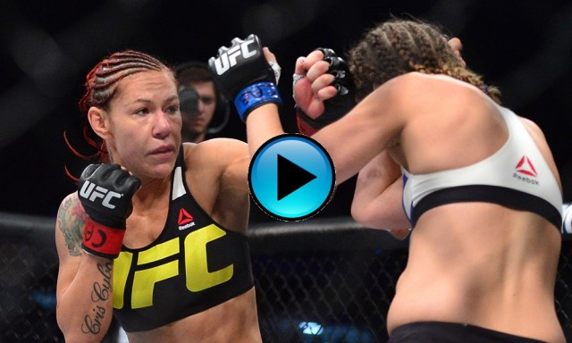 #FreeFightFriday – Watch Cyborg pummel Leslie Smith in UFC debut