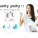Have the best poop of your life with Squatty Potty; healthy colon : happy life