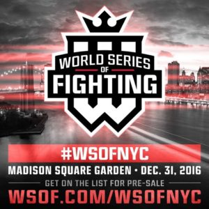 WSOF cancels next 2 cards, combines fights to New Year's Eve mega card