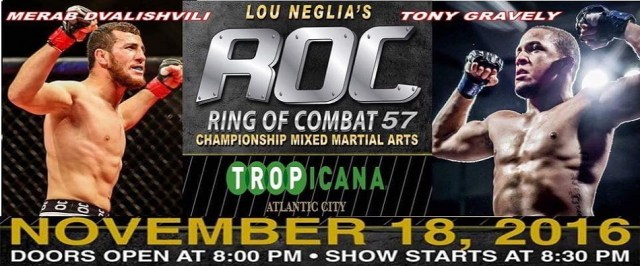 Tony Gravely looking to add to impressive 8-2 record at Ring of Combat 57