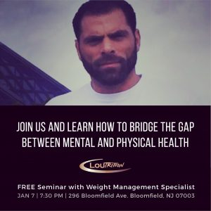 Lou Giordano - Loutrition, free seminar
