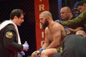 Guram Mestvirishvili, Ray Longo, Matt Serra, Ring of Combat 57
