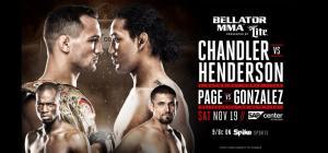 Bellator 165, Michael Chandler, Benson Henderson