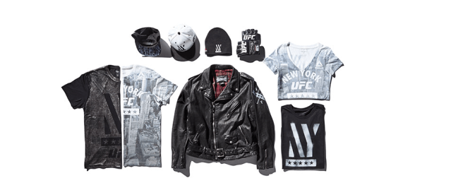 UFC & Reebok launch exclusive NY inspired product line for UFC 205