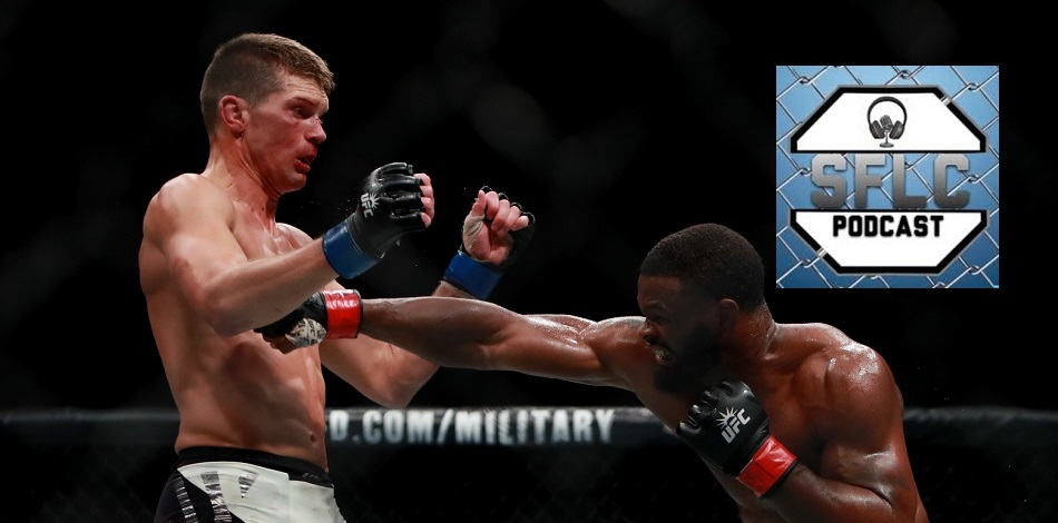 Stephen Wonderboy Thompson, Tyron Woodley, UFC 205, SFLC Podcast