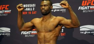 Uriah Hall - UFC Fight Night 99 weigh-ins