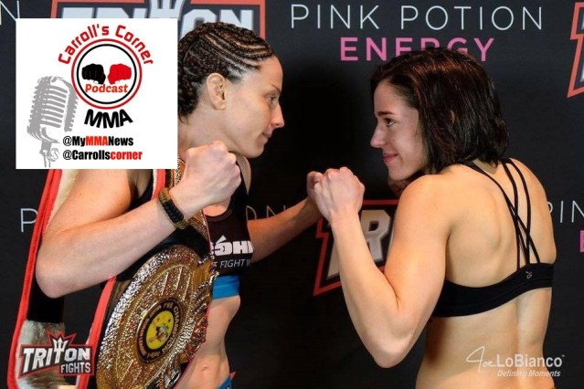 Carroll's Corner MMA Podcast: Jillian DeCoursey and Dan Coleman