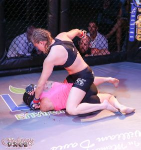 Leah Letson Ground and pound
