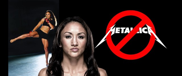 UFC tells Carla Esparza she can no longer use Metallica for walkout music