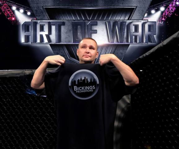 Mike Bickings discusses new MMA promotion/venture: Art Of War Cage Fighting