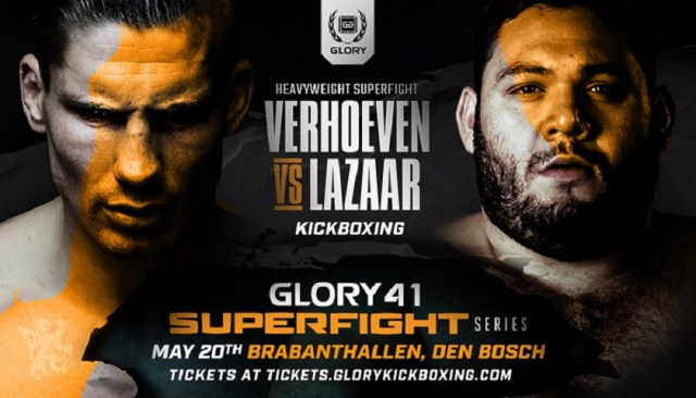 GLORY Signs Former Enfusion Champion Ismael Lazaar To Face Rico Verhoeven in GLORY 41 SuperFight Series Headline Bout