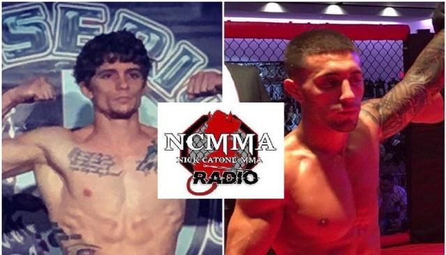 Santo Curatolo and Cole Cameron prepare for Dead Serious MMA 25