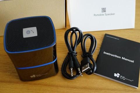EC Technology 5W Bluetooth4.0 スピーカー ワイヤレススピーカーレビュー