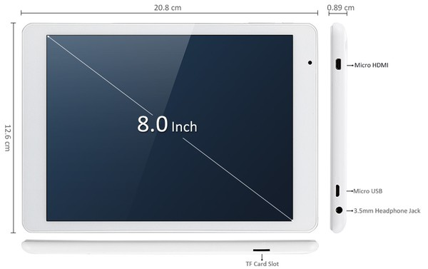 Teclast X80 Plus 性能比較説明参考写真