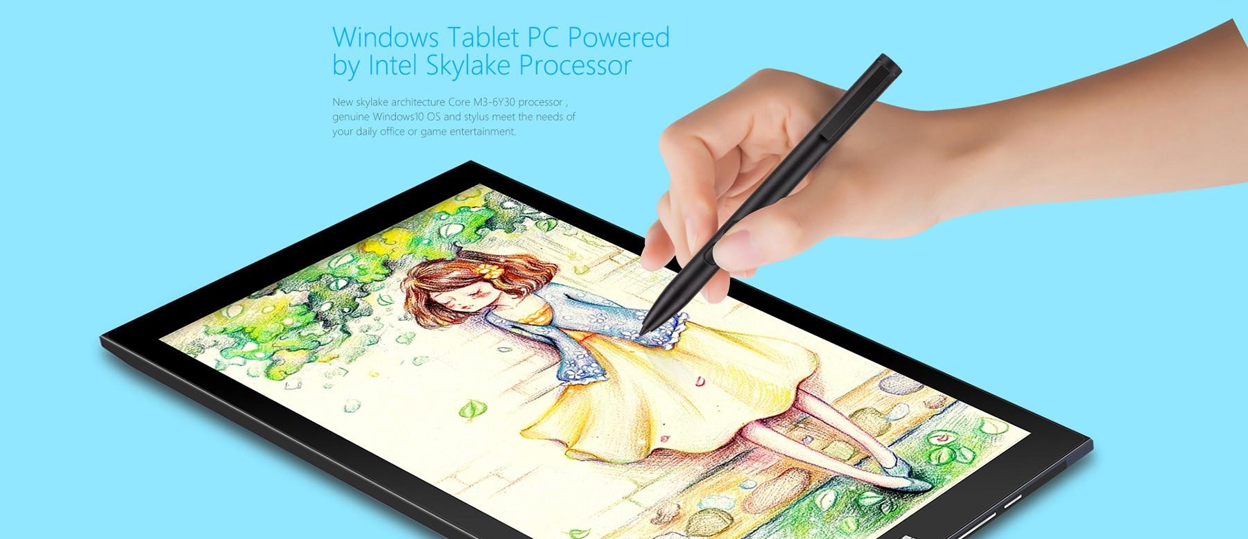 Teclast X3 Pro 2 in 1 Ultrabook Tablet PCレビュー グラボのスペックとペンタブとしての使用感のレビュー参考画像