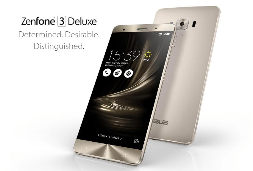 ASUS Zenfone 3 Deluxe ZS570KL 4G Phabletイメージ画像
