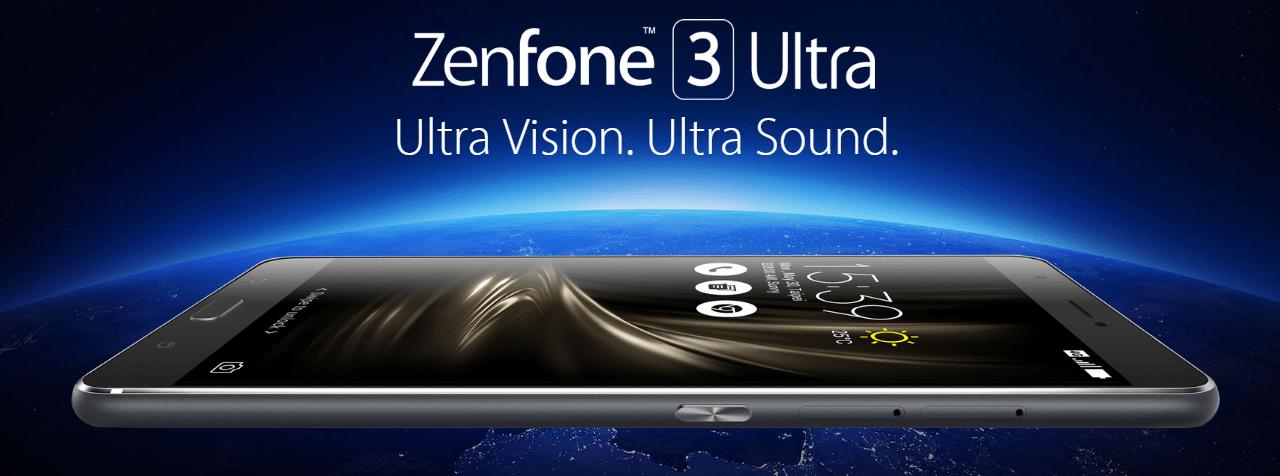 ASUS ZenFone 3 Ultra ZU680KL 外観などの参考画像